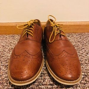 Men's Steve Madden Tan Brown Leather Shoes